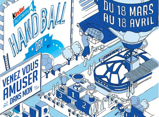 Kinder Handball Day – 18 mars au 18 avril 2020